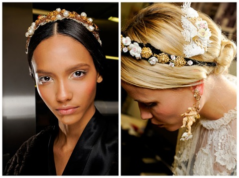 The Floral Headpiece trend