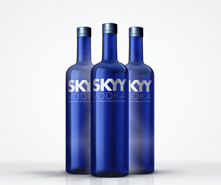 SKYY vodka competition LUXO