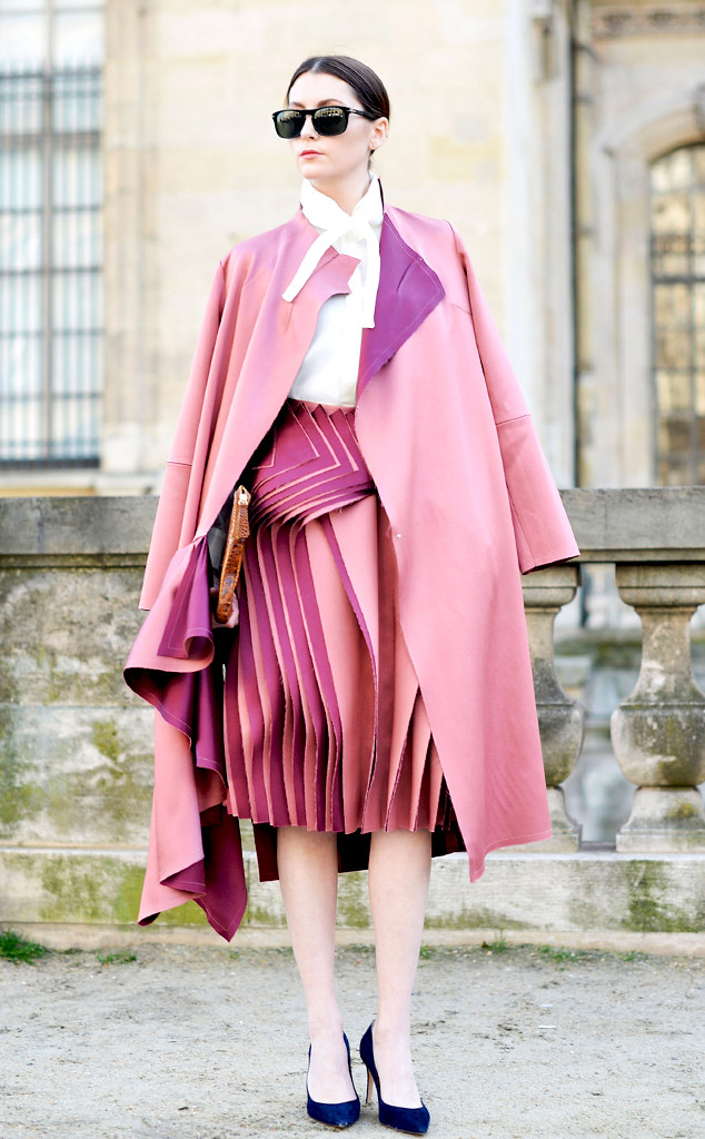 Pink Fashion Fall/Winter 2015