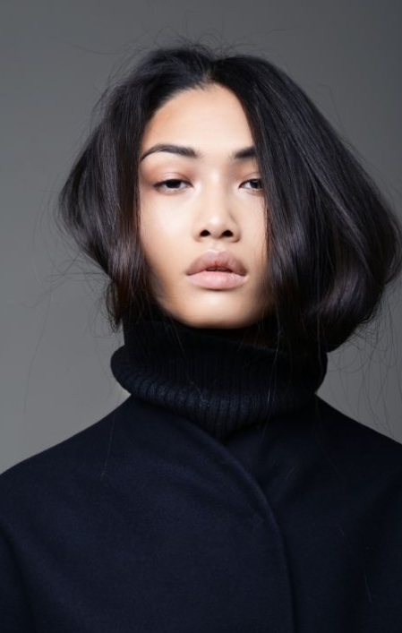 tucked in hair trend 20177 luxo blog