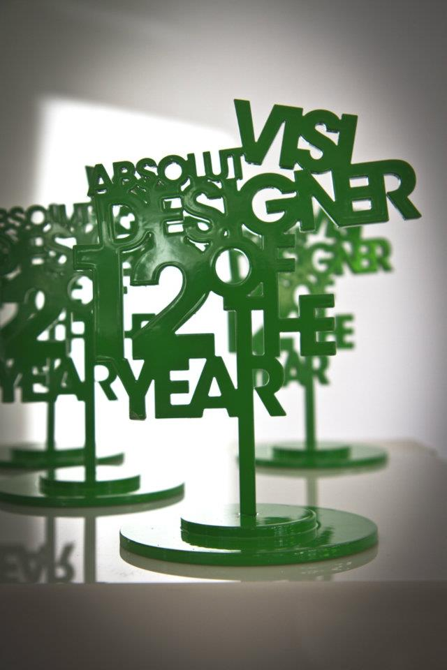 VISI designer of the year awards 2012