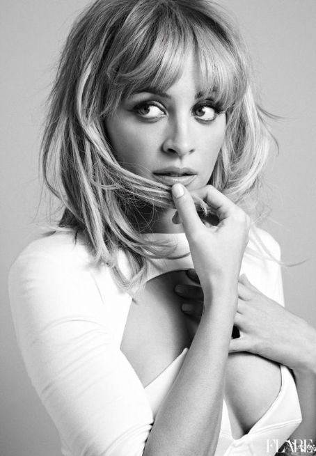 Nicole Richie Flare magazine april 2012