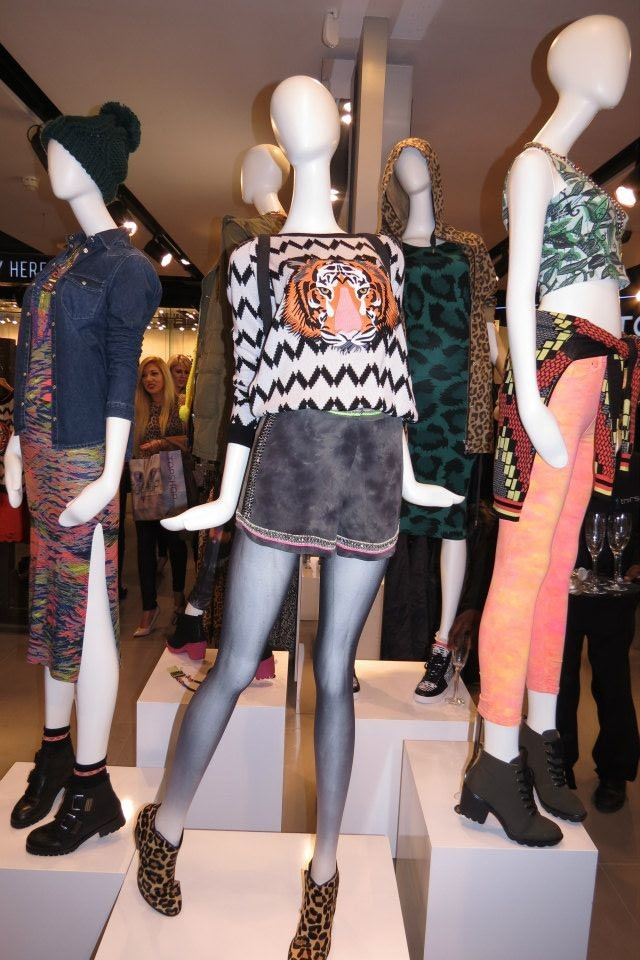 Topshop opens in Cape Town