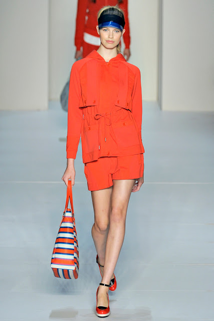 Bright Orange Winter 2013 must have colour