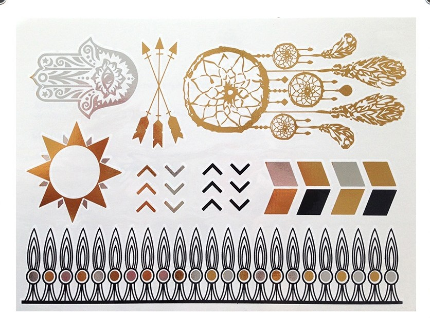 TOY South Africa Flash Tattoos
