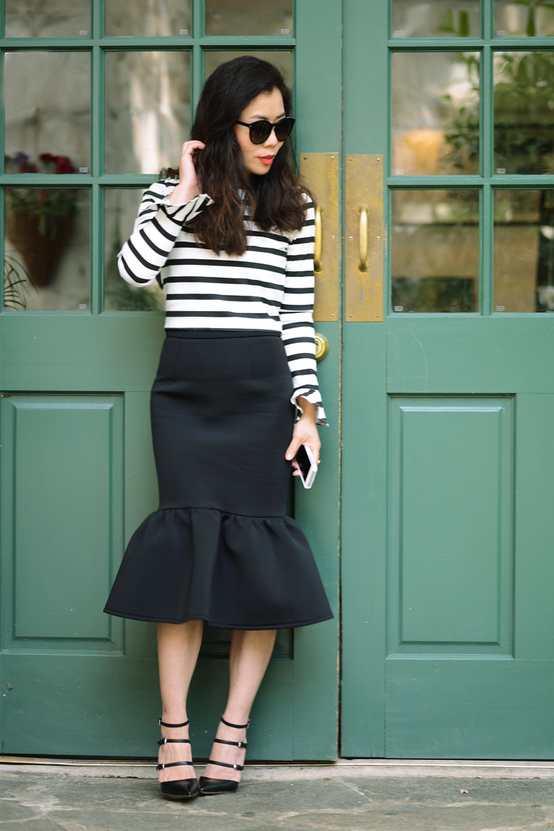 flair skirt trend