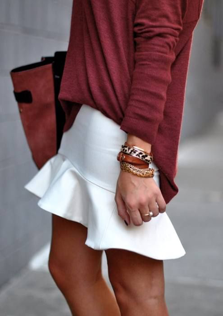 flare skirts trend