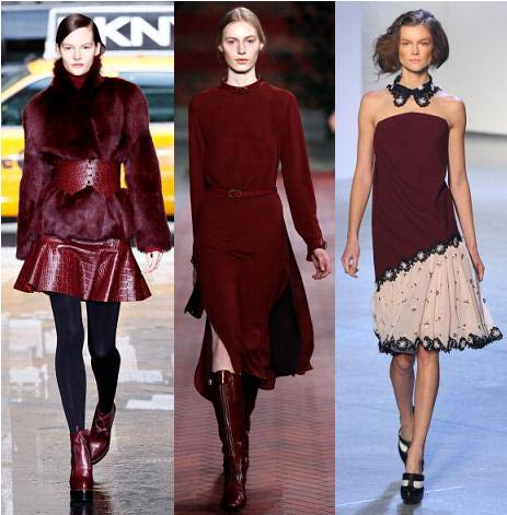 winter colour trend 2013