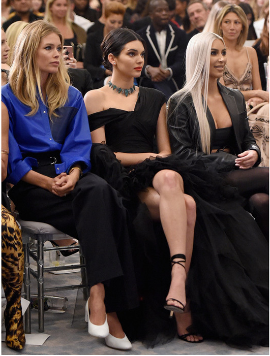 NYFW SS 2018 Fashion Week Front Row