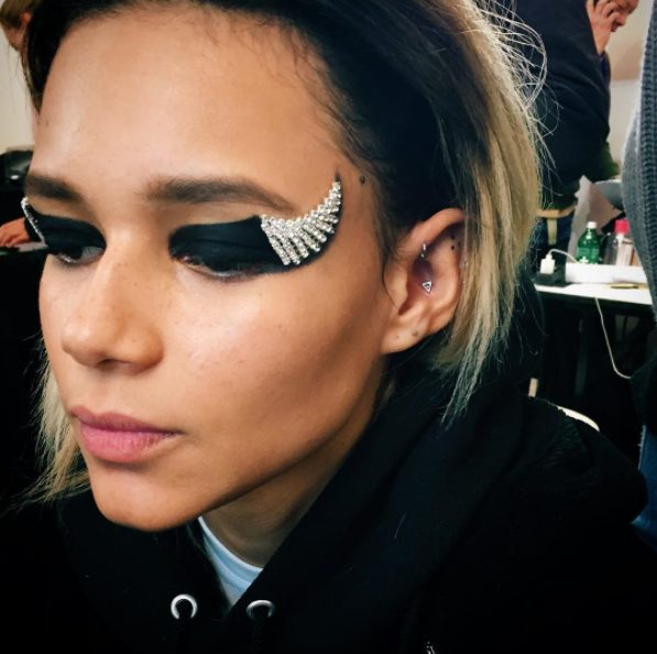 Winged Liner at NYFW September 2017