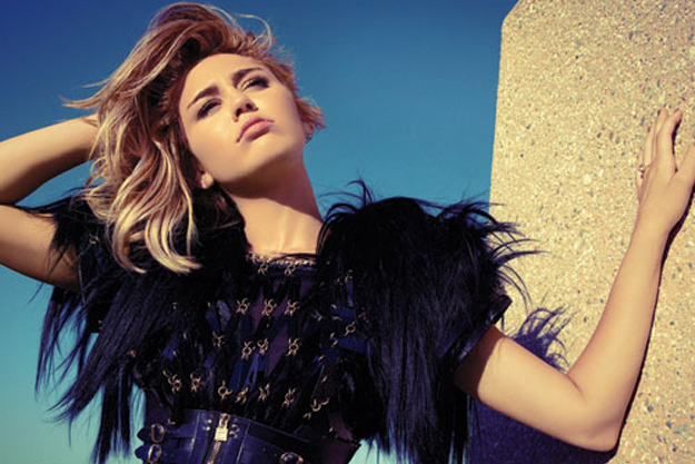 Miley Cyrus for Marie Claire September 2012