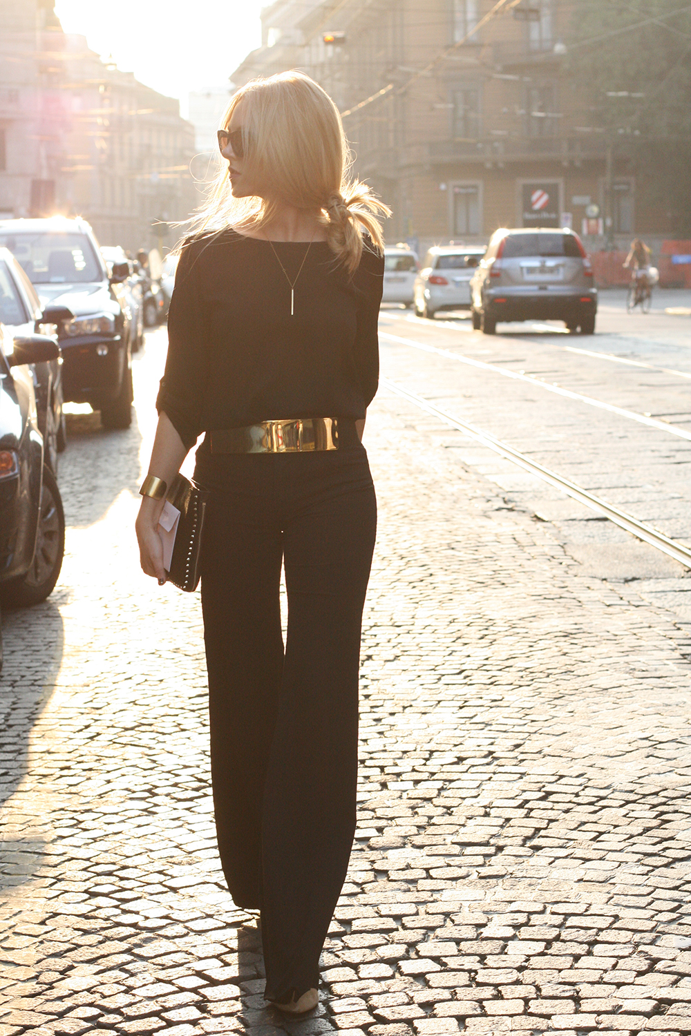 The Solid Gold belt accessory trend