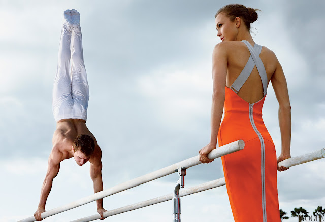 Olympics fashion by vogue 2012