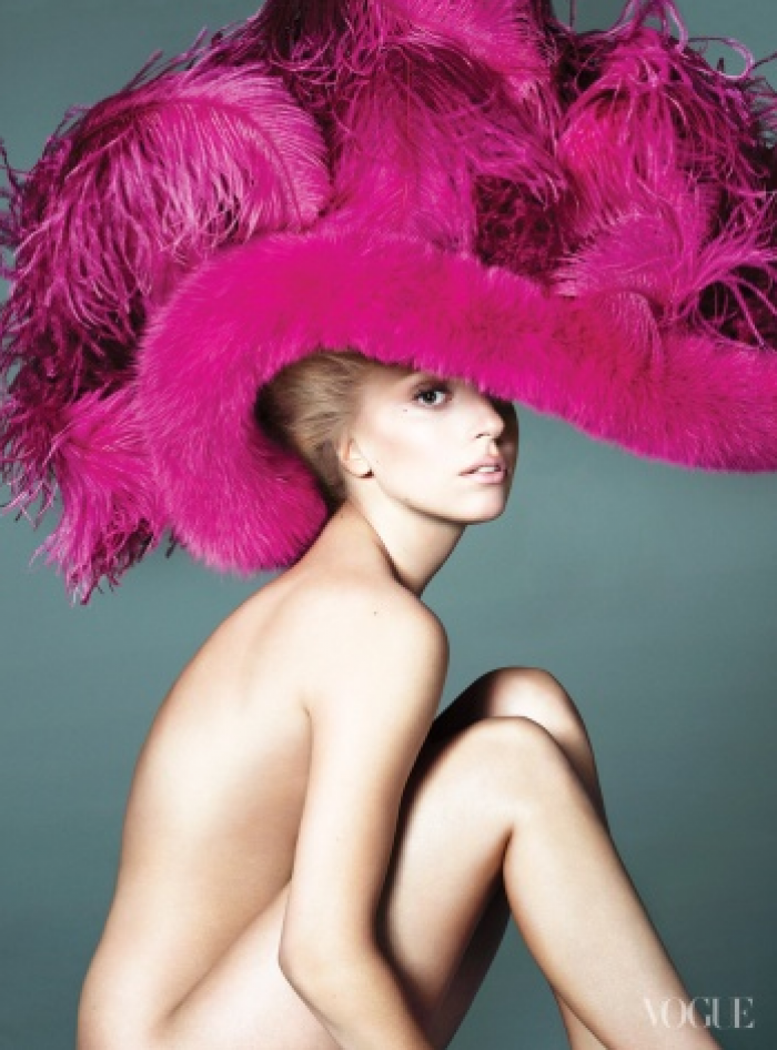 Lady Gaga Vogue Cover US 2012