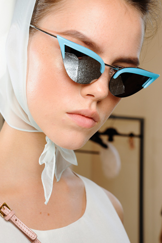 The cat eye sunglasses trend for summer 2012