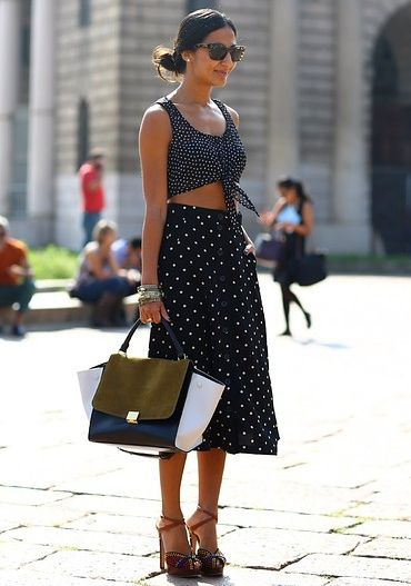 knotted crop top trend luxo