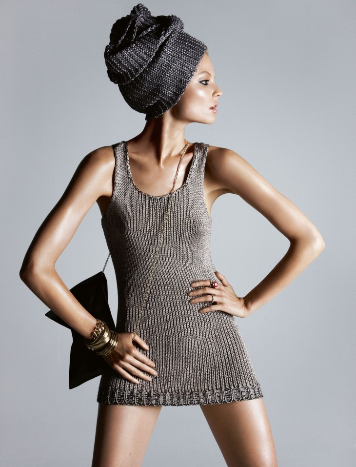 H&M Winter collections in magazines 2012