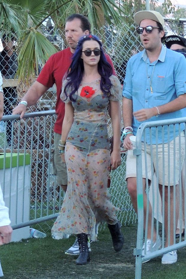 Katy Perry Coachella Festival 2012