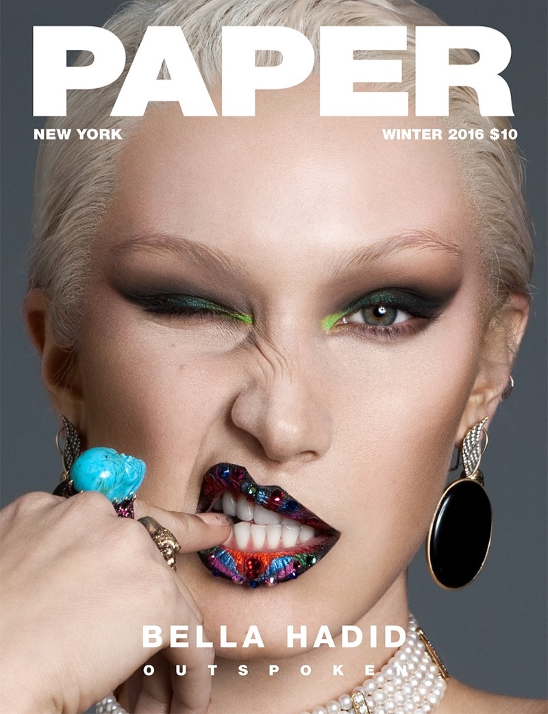 BELLA HADID FOR PAPER MAGAZINE