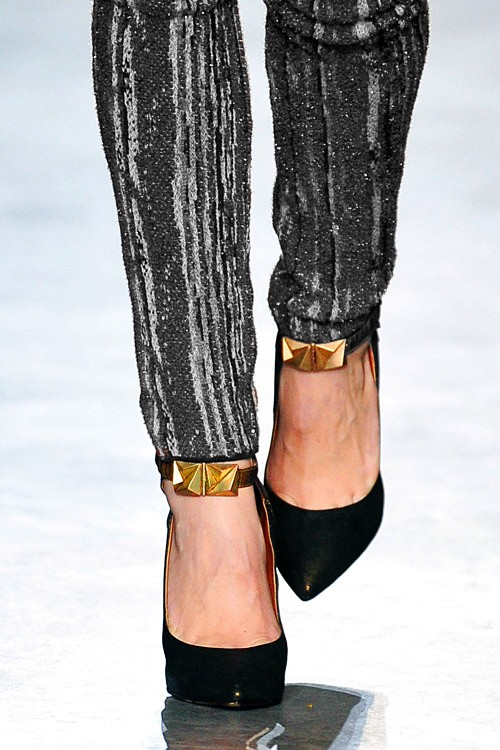 The Ankle cuff trend