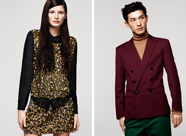 H&M winter 2013 luxo's choice to shop