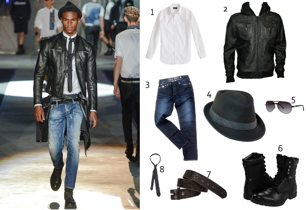 Get the DSquared look on LUXO