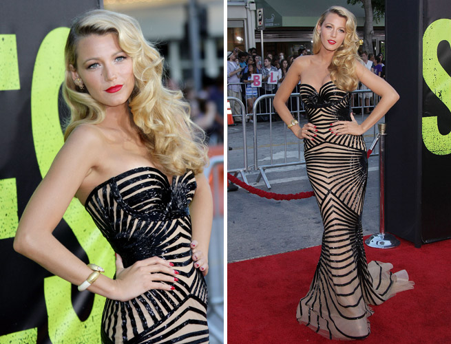 Blake lively best red carpet look on luxo