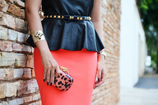 The peplum trend on LUXO