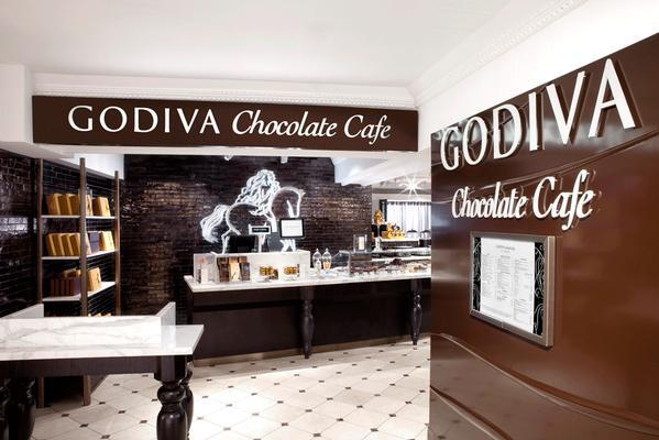 Godiva Chocolatier in South Africa on LUXO