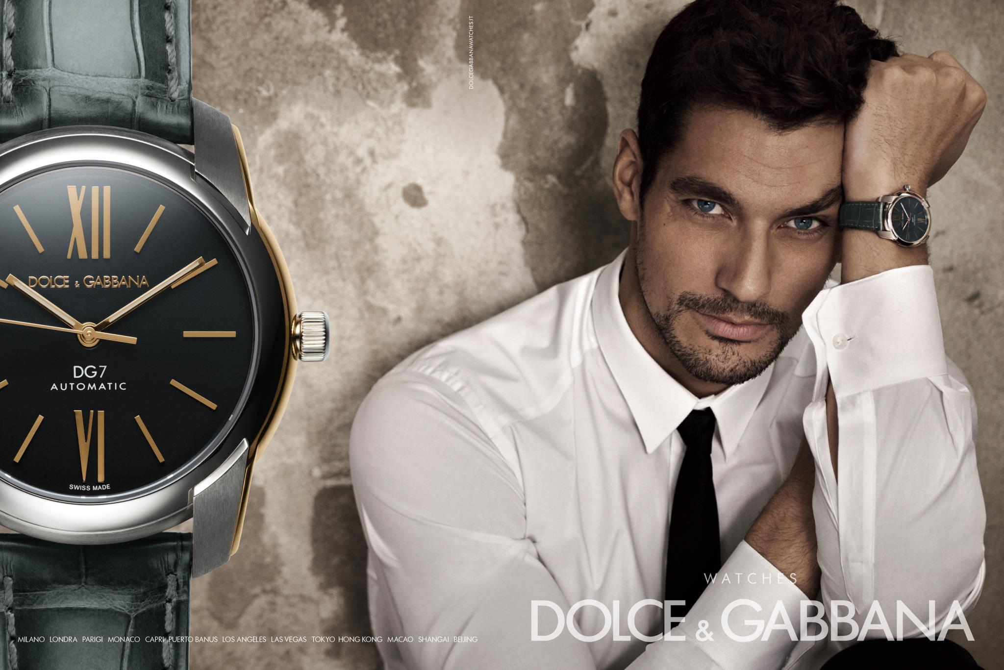 Dolce & Gabbana's Men's Watches Campaign