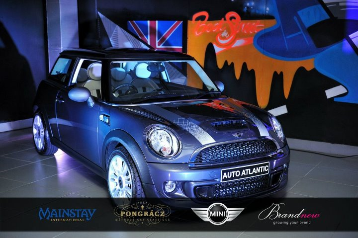 Mini Cooper cape town event LUXO