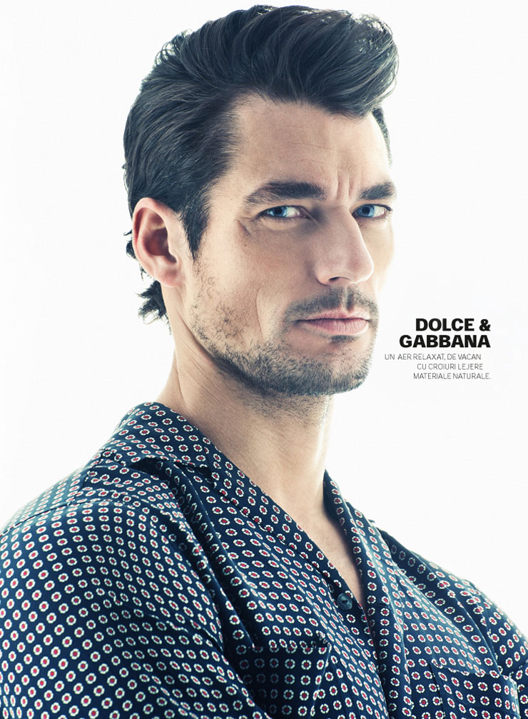 David Gandy GQ Romania