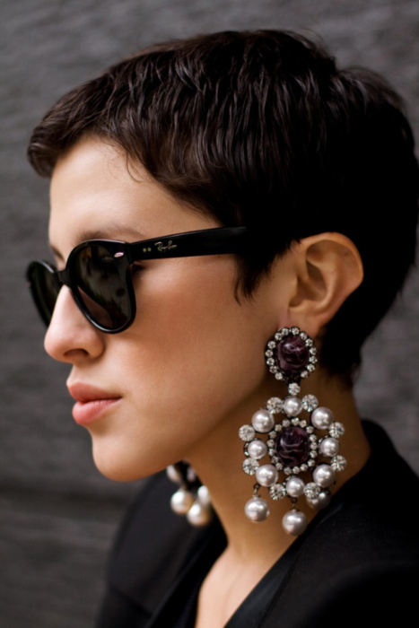 The Oversized Earring Trend