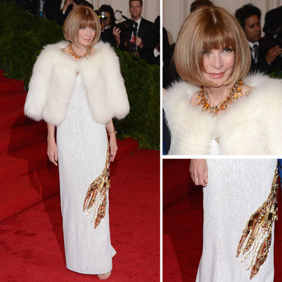 Anna Wintour at the Met Gala 2012