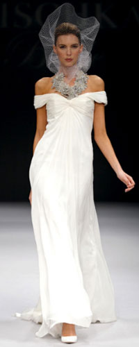 Badgley Mischka wedding gown LUXO