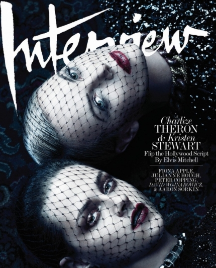 Charlize Theron and Kristen Steward Interview Magazine