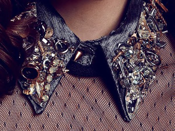 Trend Alert: Detachable or jeweled collars