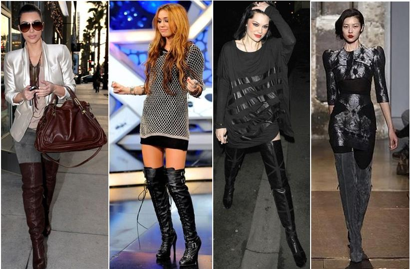 High boots trend with Luxo