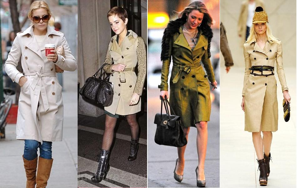 Trench Coat fashion trend Luxo