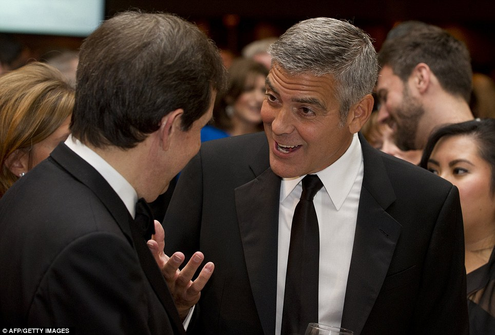 George Clooney White House Correspondence Dinner 2012