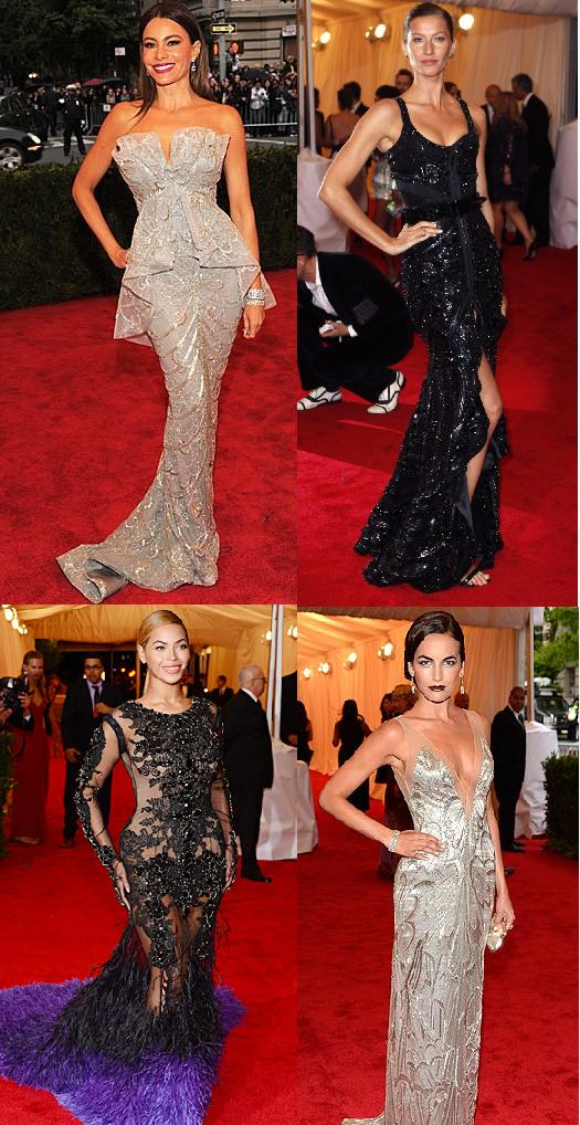 Best dressed at Met Gala 2012 on LUXO