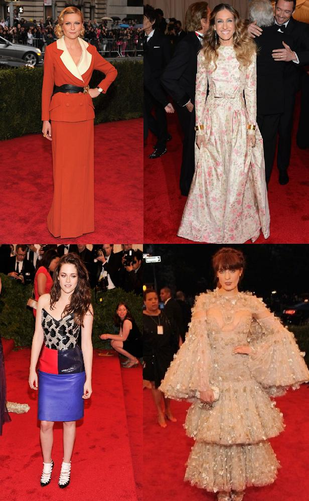Worst dressed at the met gala 2012