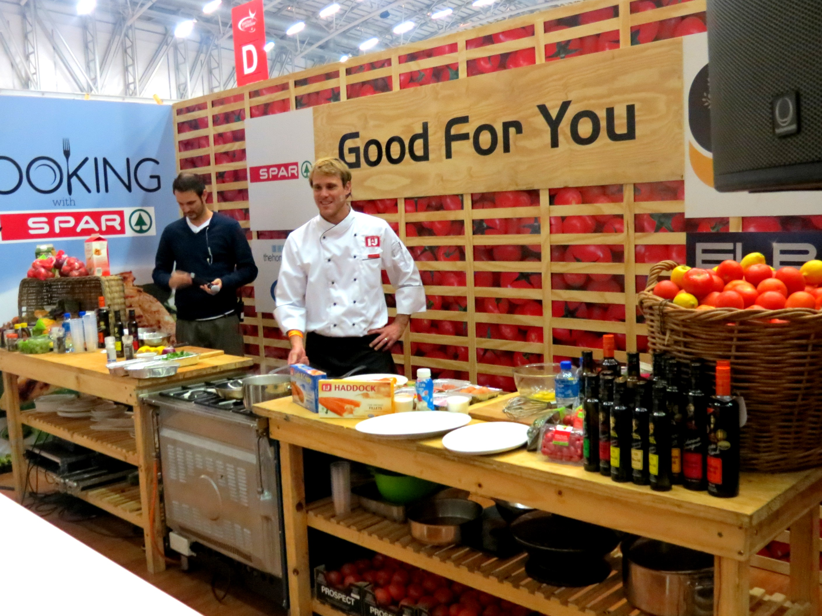 Good Food and Wine SHow 2012 LUXO