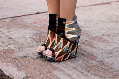 Aztec and Tribal print trend LUXO