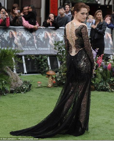 snow white and the huntsman london premiere