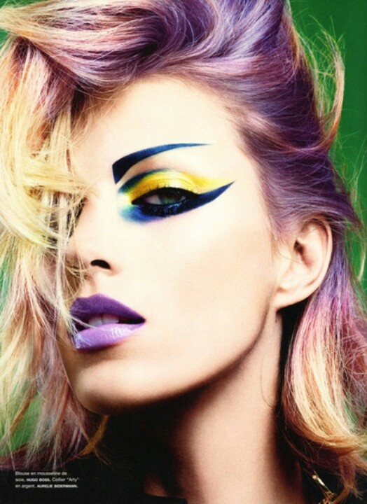 Punk Rock Makeup Inspirations
