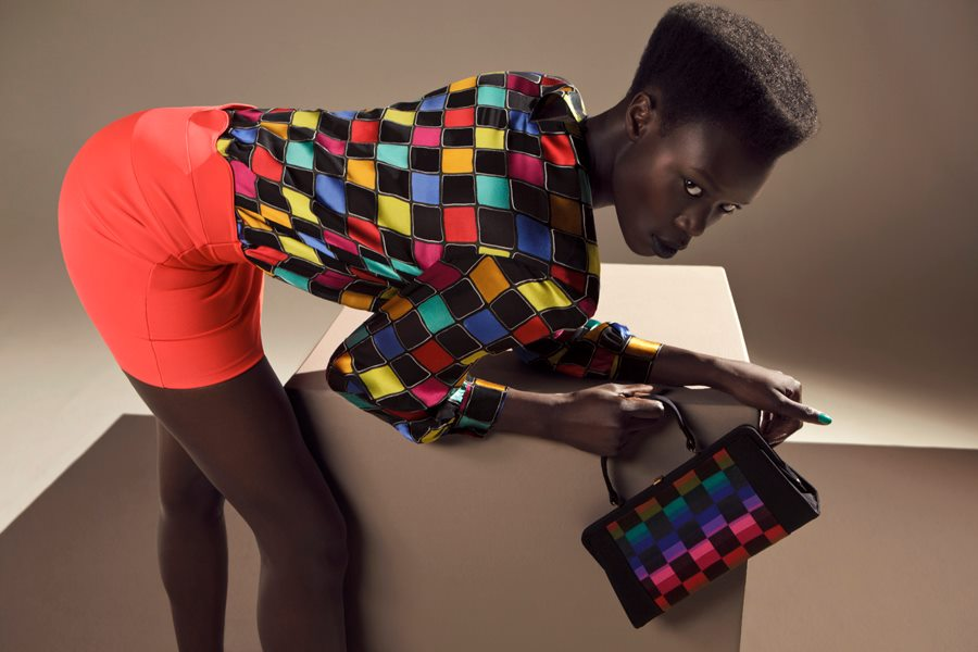 Check fabric trend winter 2012