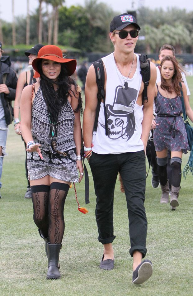 Vanessa Hudgens at Coachella Festival 2012