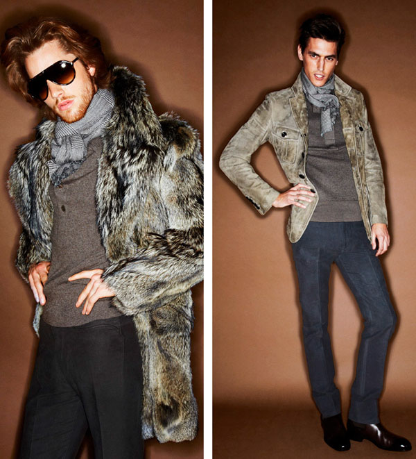 Tom Ford Menswear Collection Winter 2012