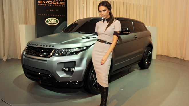 Victoria Beckham Range Rover Evoque launch in China
